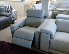 HTL electric recliner chair grey £199 (CARDIFF SUPERSTORE) - Click for more details