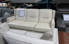 GOLF Large 3 seater sofa cream £499 (SWANSEA SUPERSTORE) - Click for more details