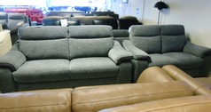 Marseille 3 seater and 2 seater grey £1299 (CARDIFF SUPERSTORE) - Click for more details