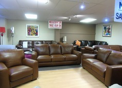 Porto 3 seater, 2 seater and 1 chair £1999 (SWANSEA SUPERSTORE) - Click for more details