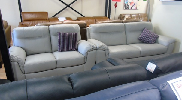 Valencia 3 seater and 2 seater light grey £1499 (SWANSEA GreuSUPERSTORE)