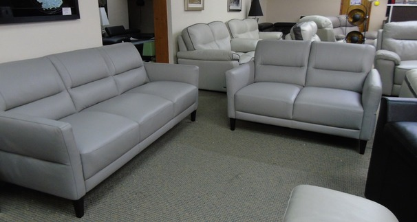 Roma 3 seater and 2 seater grey £1699 (SWANSEA SUPERSTORE)