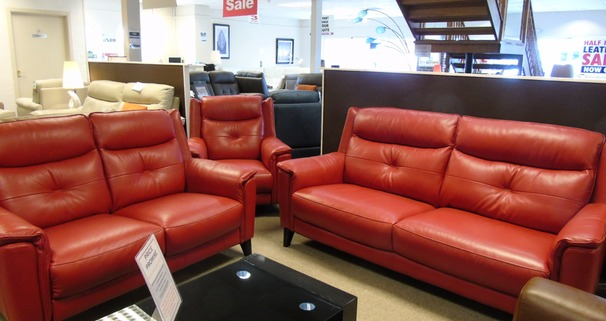 Winchester 3 seater and 2 seater red £1899 (CARDIFF)