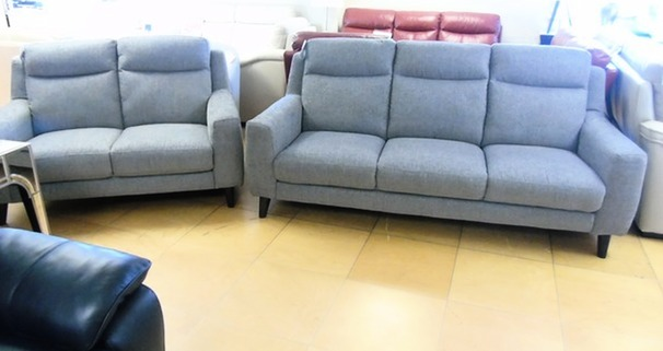 Newbury  large 3 seater and 2 seater grey £1199 (SWANSEA SUPERSTORE)