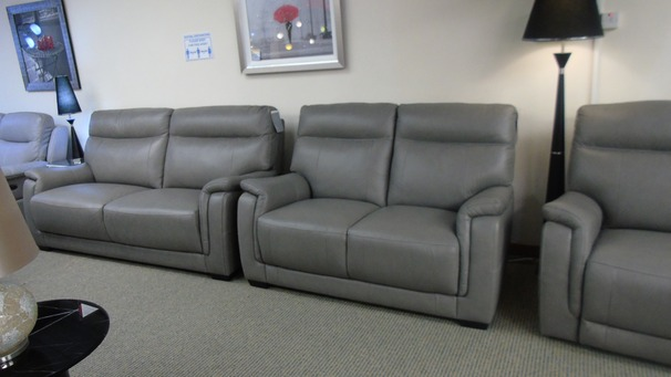Granada 3 seater and 2 seater grey £1999 (SWANSES SUPERSTORE)